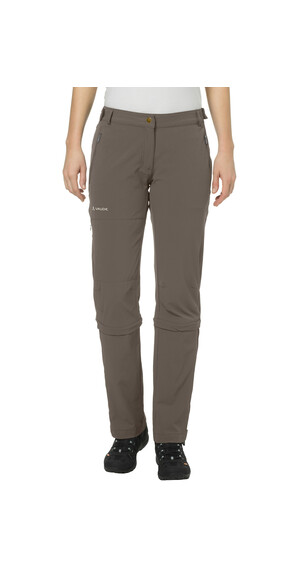VAUDE Farley II Stretch T-Zip Capri short Women coconut